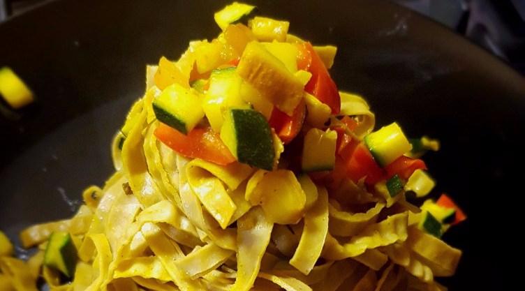 Sempliccine di soia alle verdurecroccanti