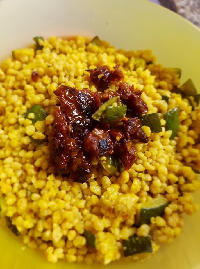 cuscus zucchine nocciole cencecicin 09