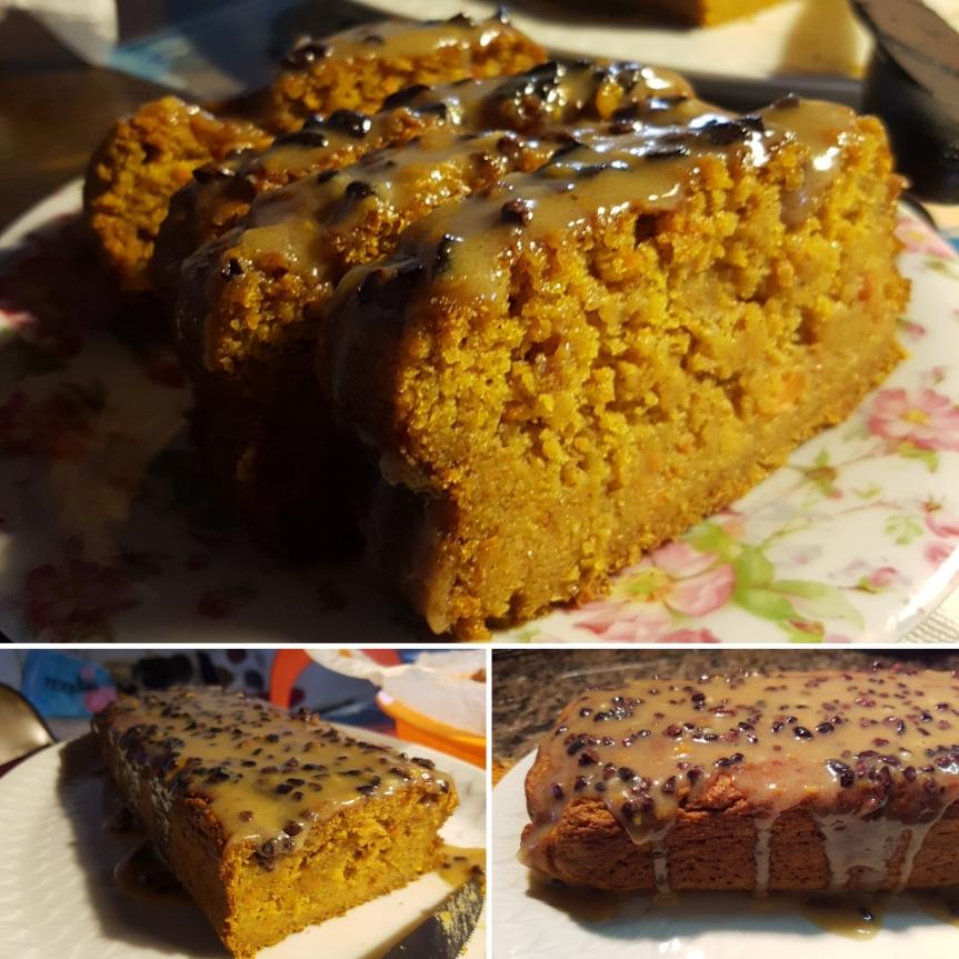 Banana and carrot bread: il plum cake frutta e verdura con mantello di cioccolatobianco