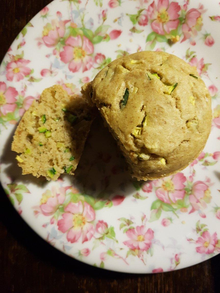 Antipastino per due: muffin salati e integrali dizucchine