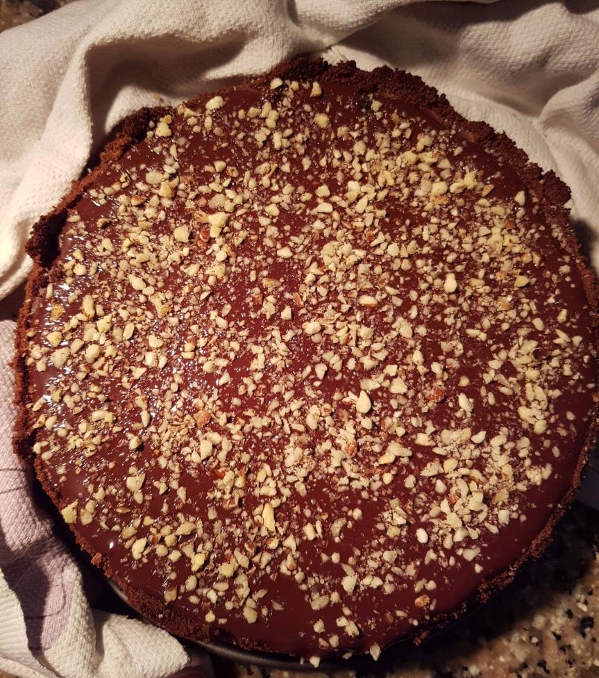 Cheesecake (al forno) vaniglia, cacao ecioccolato