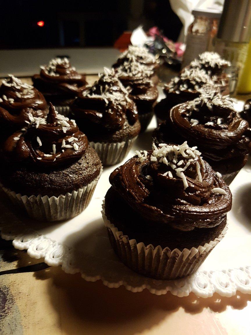 Muffin magici cioccolato-arancia… all'acqua! (vegan)
