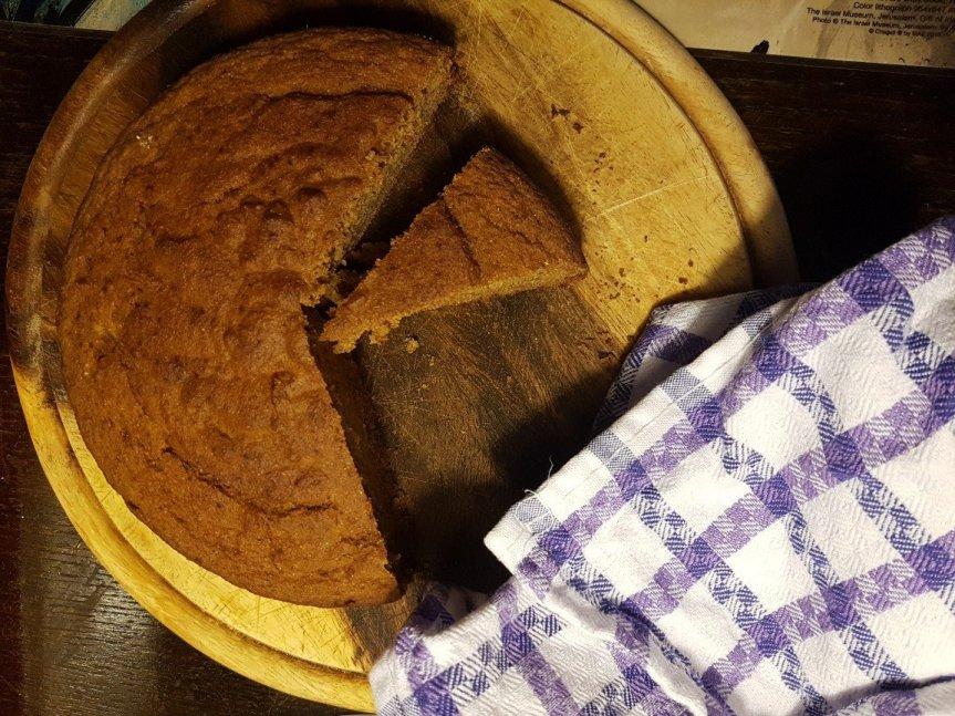 Torta integrale semplice cencenuje